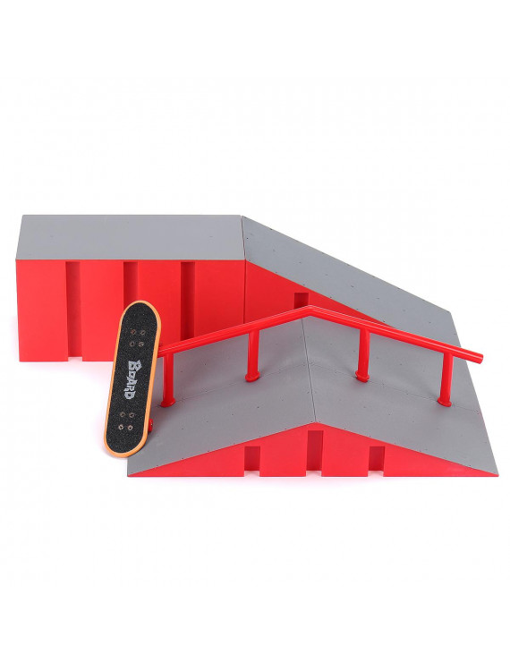 Mini Fingerboard Finger Skateboard & Skate Ramp Skate park Play Set Kids Home Gift Game Toy Fun