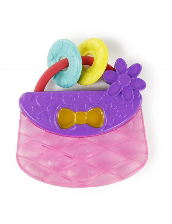 Bright Starts Carry & Teethe Purse Chillable Teether Toy, Ages 3 months +