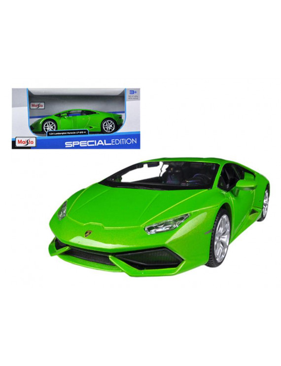 Lamborghini Huracan LP610-4 Green 1/24 Diecast Model Car by Maisto
