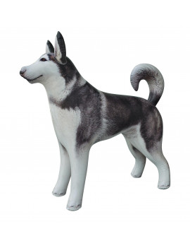 Inflatable Husky Shepherd Dog Animal Toy Party Gift Kids (HUSKY+SHEPARD)