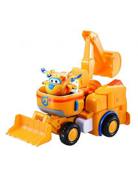 Super Wings - Donnie's Dozer Transforming Toy Vehicle Set