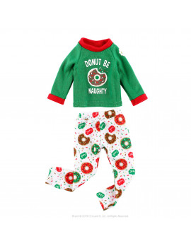 Claus Couture Donut Be Naughty PJs