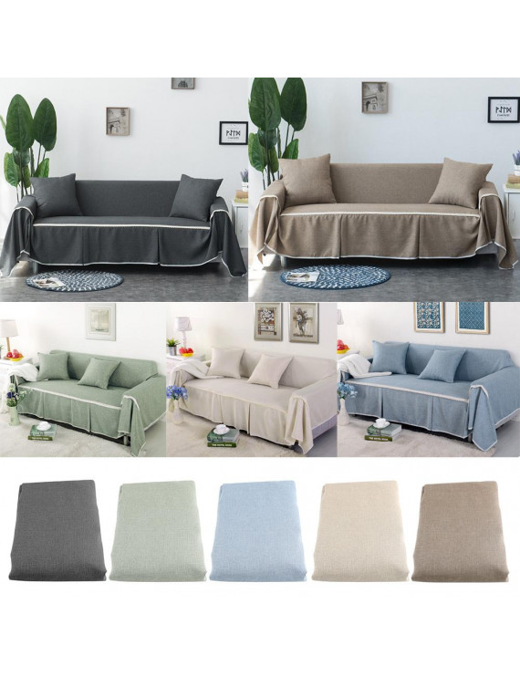 Yosoo Couch Sofa Slipcover,Sofa Cover Couch Covers for Chair Loveseat Sofa  Sofa Oversized Furniture Protector Washable Slip Cover Throw for Home Office