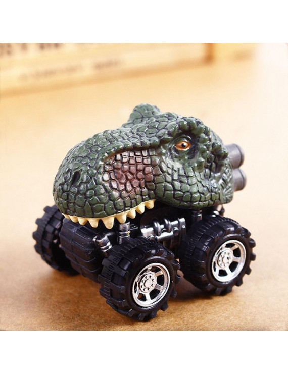Children's Day Gift Toy Dinosaur Model Mini Toy Car Back Of The Car Gift