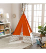 KidKraft Deluxe Play Teepee - Orange