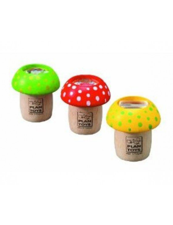 Plan Toys Mushroom Kaleidoscope - Each Multi-Colored