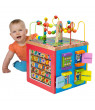ALEX Discover My Busy Town Wooden Activity Cube