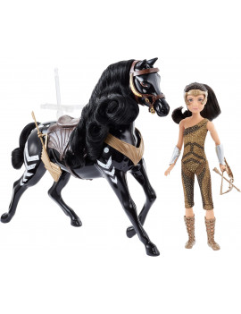 Wonder Woman 1984 Young Diana Doll (~ 9-in) with Horse, in Fashion and Accessories