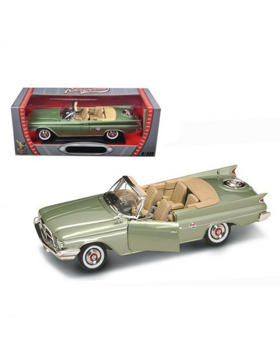 Road Signature 92748grn 1960 Chrysler 300F Green 1-18 Diecast Car Model