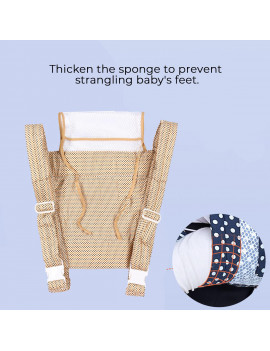 3 in 1 Convertible Ergonomic Baby Carrier Baby Kangaroo Bag Breathable Front Facing Baby Carrier Infant backpack Pouch Wrap Baby Sling for Newborns