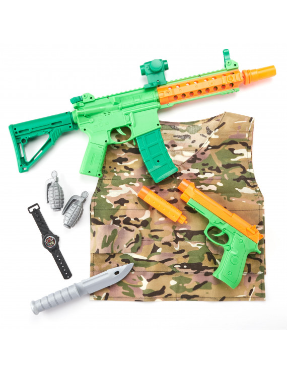 Adventure Force Deluxe Action Roleplay Set, Military