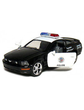 "5"" Kinsmart 2006 Ford Mustang GT Police Car Diecast Model Toy Cop 1:38"