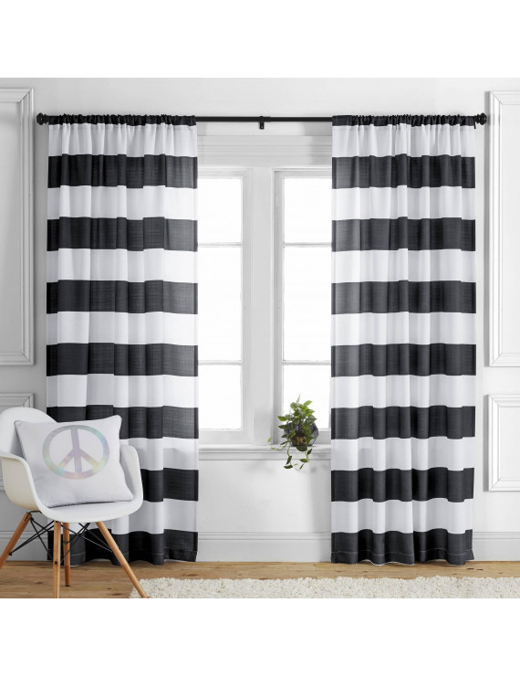 Kids' and Teens' Stripes Single Curtain Panel by Better Homes and Gardens