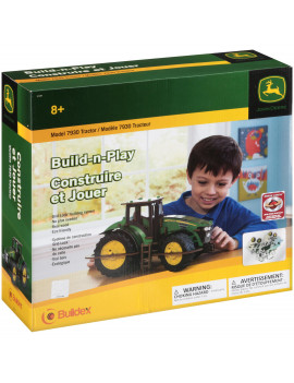 Buildex Build-n-Play Model 7930 John Deere Tractor