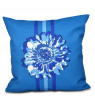 """Simply Daisy 16"""" x 16"""" Flower Child 2 Floral Print Pillow"""