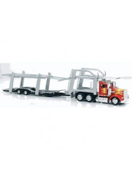 1979 Kenworth W900 Tandem Car Carrier Auto Transporter Truck- 1:43 Scale