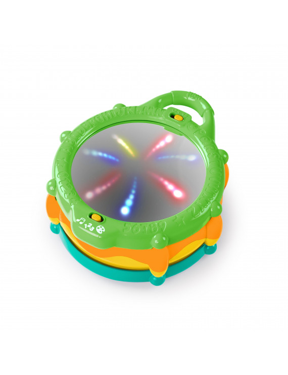 Bright Starts Light and Learn Drum with Melodies, Ages 3 months +