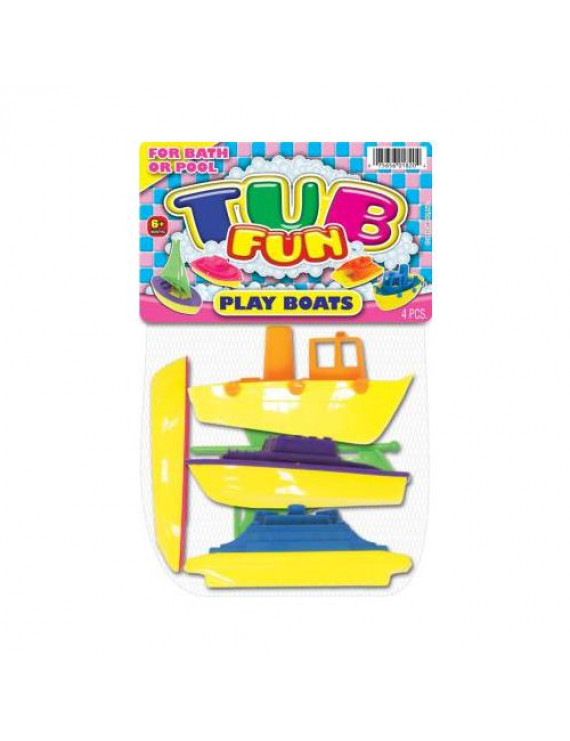 Ja-Ru Jaru Tub Fun Boats 1 Ea