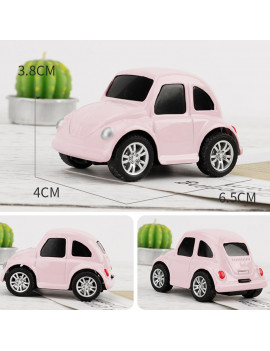 Gotoamei Mini Vehicle Pull Back Cars with Bright Color Creative Gifts for Kids