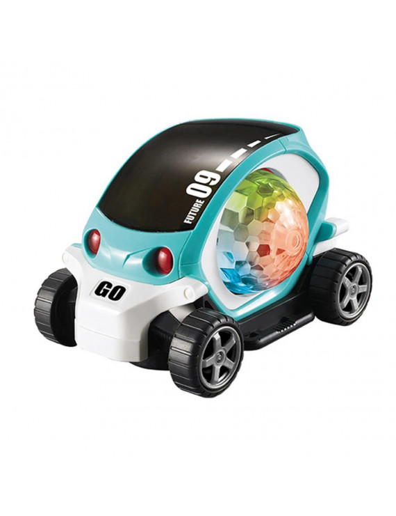 3d Light Toy Car Electric Universal Rotating Colorful Music Car Children's Toys