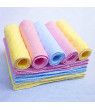 Besufy 10Pcs Reusable Baby Cotton Cloth Diaper Washable 3 Layers Nappy Liners Inserts