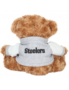 FOCO - NFL 10 Inch Varsity Bear, Pittsburgh Steelers