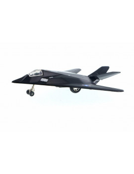 F-117 Nighthawk Pullback Plane, Black - Daron PMT51285 - Diecast Model Military Vehicle