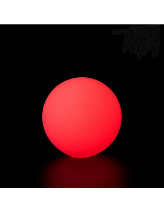 PLAY GLOW BALL - 70 MM - 150 GR (Red) 1 Single Juggling Ball