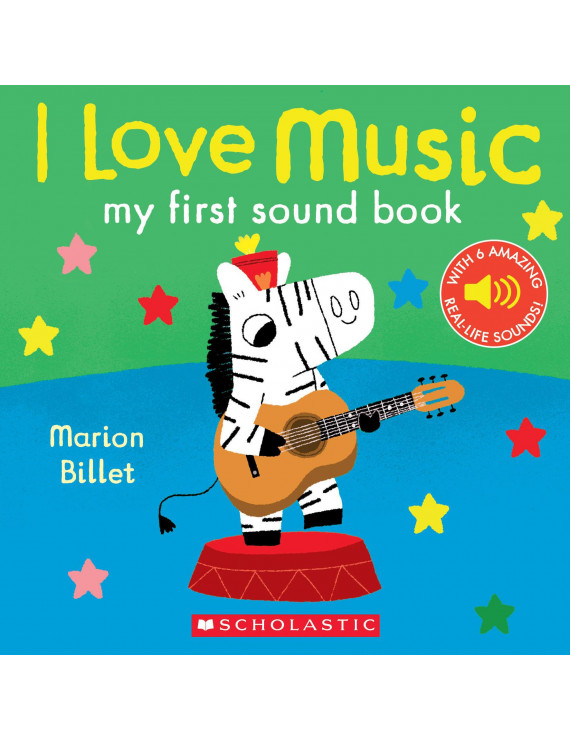 I Love Music My 1st Sound Book (Board Book)