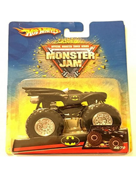2007 HOT WHEELS MONSTER JAM BATMAN MONSTER TRUCK 48/70