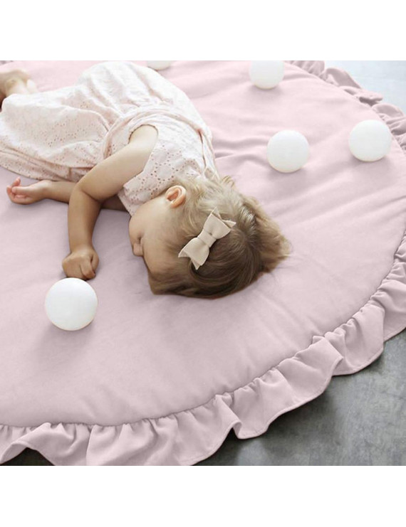 snorda Soft Cotton Baby Kids Game Activity Play Mat Crawling Blanket Floor Rug New