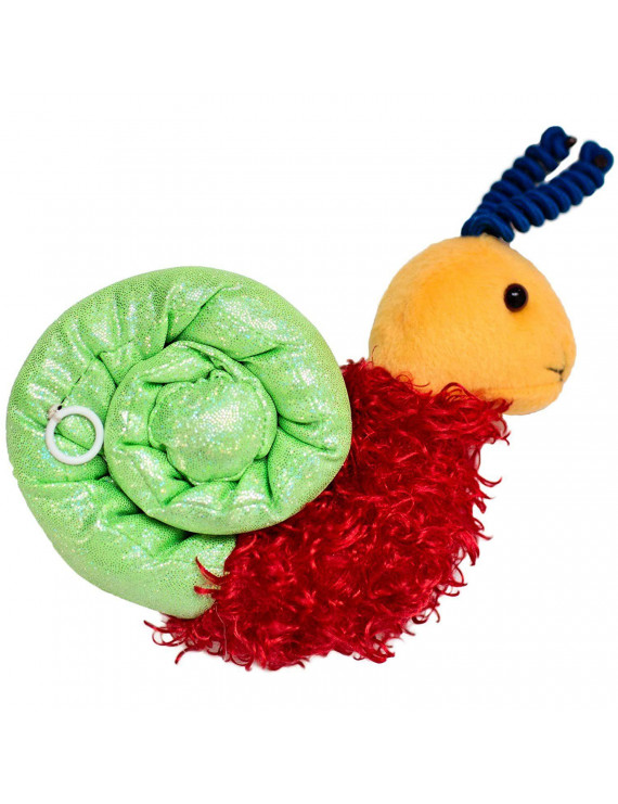 Fun and Function Vibrating Sensory Snail with Soft, Multi-Textured Surfaces for Tactile Exploration and Calming