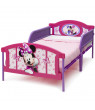Disney Minnie Mouse Plastic 3D-Footboard Twin Bed by Delta Children