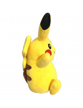 "7"" Happy Pika - Pokemon Pikachu Happy Raising Hands Stuffed Animal Soft Plush"
