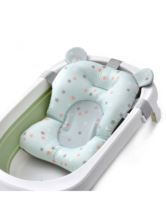 Codream Baby Bath Pillow - Infant Tub Cushion, Quick Drying Mat for Infant Bathing,Green