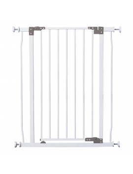 "Dreambaby Liberty Auto-Close, Smart Stay-Open 30"" Extra Tall Metal Child Safety Gate Fits Openings 29.5-33 inches"