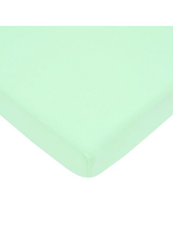 American Baby Company 100% Cotton Jersey Knit Pack N Play Sheet, Mint