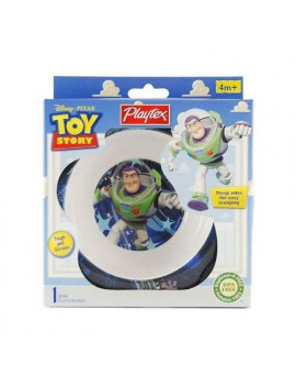 Playtex Toy Story Bowl,Steep sides for easy scooping, BPA Free, Designs May Vary