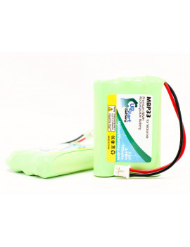 2x Pack - Graco A3940 Battery - Replacement for Graco BATT-2795 Baby Monitor Battery (700mAh, 3.6V, NI-MH)