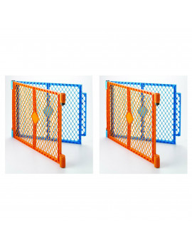 North States Colorplay Superyard Baby/Pet Gate Extension Kit - 2 Panel (2 Pack)