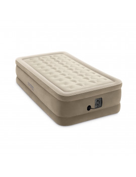 Intex - Dura Beam Plus Series Ultra Plush Airbed, Twin