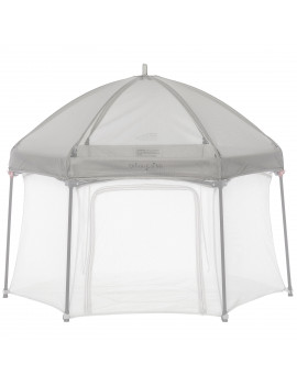 Dream On Me Onyx Canopy, Gray