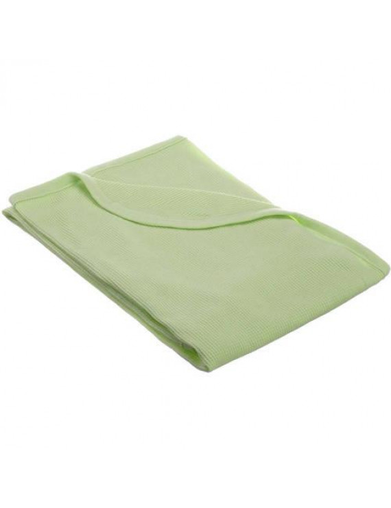 American Baby Company 30 X 40 - Soft 100% Natural Cotton Thermal/Waffle Swaddle Blanket, Celery, Soft Breathable, for Boys and Girls