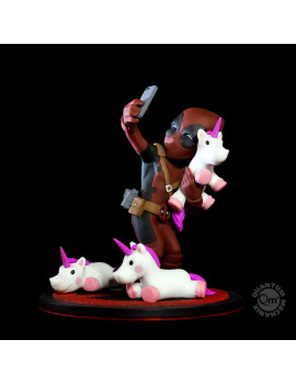 Deadpool #unicornselfie Q-Fig Diorama Marvel QMx