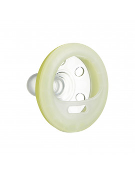 Tommee Tippee Breast-like Night Time Pacifier - 6-18 months, 2pk