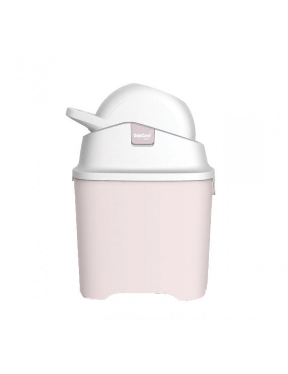 OdoCare One Diaper Pail, Pink