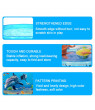 Cartoon Pattern PVC Household Bathing Basin Foldable Pool Children's Bathtub Ocean Ball Pool Fish Pond