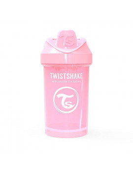 Twistshake Crawler Cup 300ml / 10oz 8+m Pastel Pink