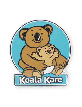 Koala Kare Products 825 Baby Changing Station Front Label
