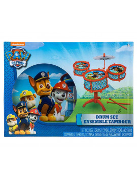 Disney Junior Paw Patrol Toy Drum Kit Set